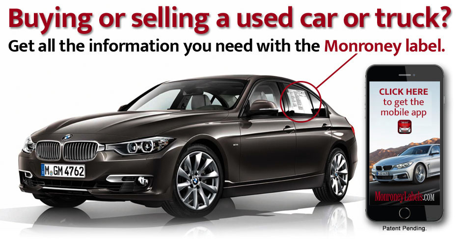 Get all the information you need with the BMW Monroney label.