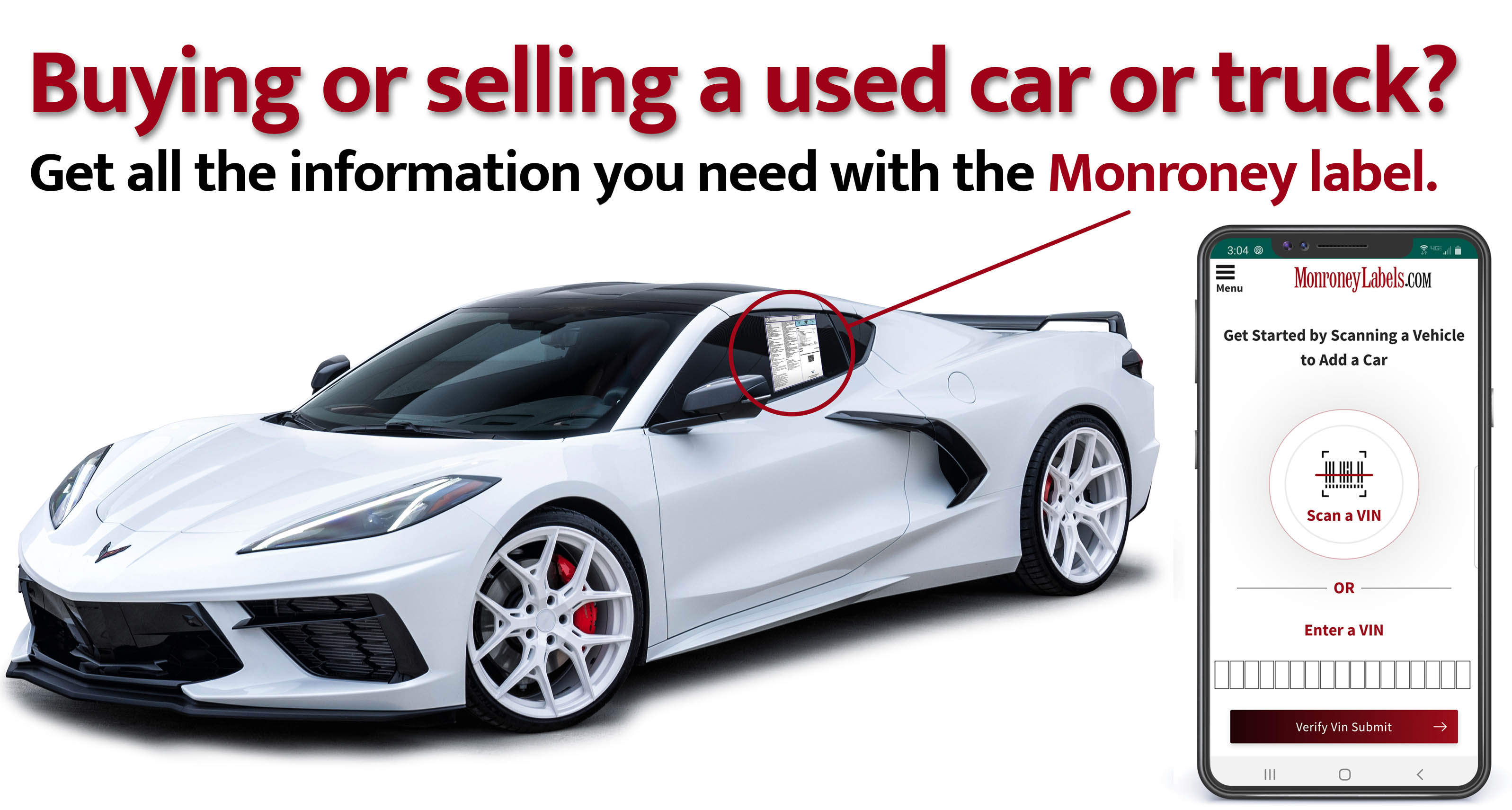 Get all the information you need with the Monroney label.